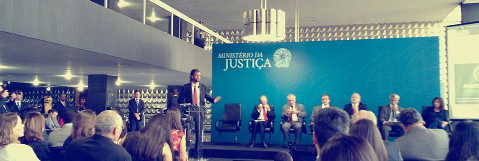 Lançamento das consultas públicas no Ministério da Justiça. Foto: Francisco Brito Cruz.