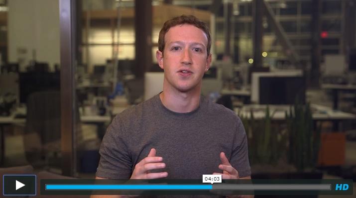 Mark Zuckerberg anuncia mudanças no projeto Internet.org após polêmica sobre se o acesso grátis a aplicativos fere a neutralidade da rede. Imagem: Vimeo.