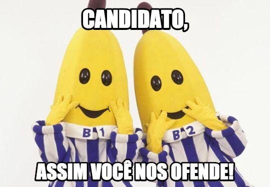 Liberdade de expressão a preço de banana