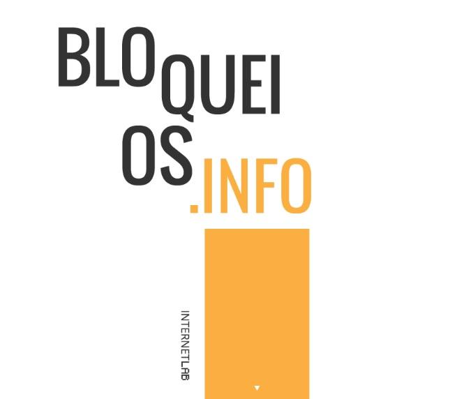 O evento será o lançamento nacional da plataforma Bloqueios.info